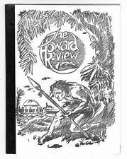 The Howard Review #1 - 1975 Robert E. Howard fanzine - 1st printing - Glenn Lord