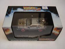 Back to the Future Part 3 III Delorean Skynet Universal Studios Model Car 1/43