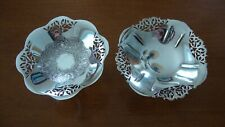 BIRKS VINTAGE SILVER PLATE CANDY DISH, ROGERS and 2 mores 4 ITEMS