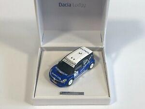 ELIGOR Coffret Dacia Lodgy #2 Trophée Andros A. Prost 1/43 Voiture Miniature