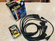 ACCEL  SPIRAL CORE  5047K   8.0 MM SPARK PLUG WIRE SET BLACK  MOPAR FORD