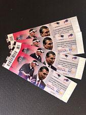 NFL 2013 09/08 New England Patriots at Buffalo Bills Full Ticket- TOM BRADY WIN