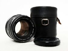 Vintage ASAHI PENTAX 55mm 1.8 Prime Lens for M42 fit with caps
