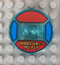 Lego Dimensions Marty McFly Toy Tag. Back To The Future. Rare.