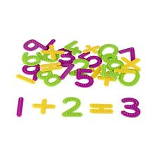 school maths TACTILE NUMBERS CLASSROOM SET (142 pieces) 128 numbers & 14 signs
