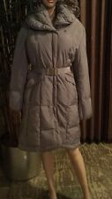 Cole Haan belted oversize collar DOWN COAT SZ SMALL NEW $395.00.