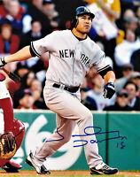 Johnny Damon New York Yankees Signed Autographed 8X10 PHOTO AUTO