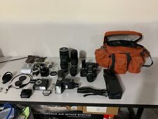 New listing Nikon F3 camera package, 7 lenses, flashes, motor drive with accessories