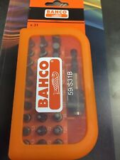 Bahco 59/S31B Screwdriver bit set 31 piece