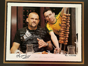 Chuck Liddell MMA Autugraphed Photo. LIMITED EDITION. 3/20. RARE FIND.