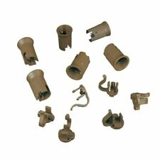 Novelty Lights 50 Pack C9 Replacement Sockets, Brown, SPT-2