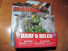 Dreamworks Dragons Mini BARF & BELCH Zippleback Dragon 2017 Figure NEW