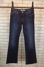 JOE'S Womens HONEY Boot Leg Jeans Size 28 Dark Blue Wash Bootcut Misses