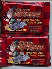 Racer Knights of Falconus CMG Booster pack lot X2 MINT White Wolf