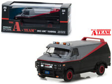 GREENLIGHT 86515 - 1/43 SCALE 1983 GMC VANDURA THE A TEAM VAN