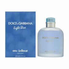 Light Blue Eau Intense by Dolce Gabbana For Men 6.7 oz EDP Spray New In Box