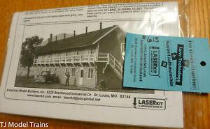 American Model Builders N Scale #613 Railroad Rooming House