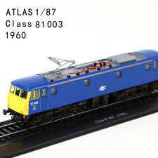 ATLAS LIMITED 1/87 Class 81 003 (1960) 130 TRAM Model for gift in Blue Color
