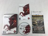 Dragon Age Origins PC Game Windows EA Bioware