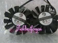 75mm MSI GTX 660 670 680 R7850 R7870 R7950 TwinFrozrIII Video Card Fan #M770 QL