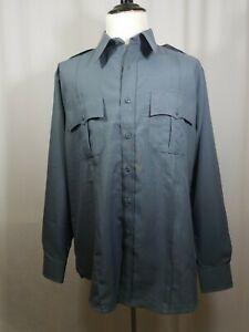 Men's Tact Squad Shirt size 4XL Dark Gray Long Sleeve 8002