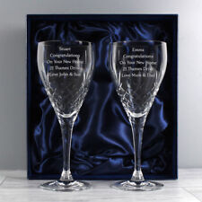 Engraved Contemporary Original Crystal Crystal & Cut Glass