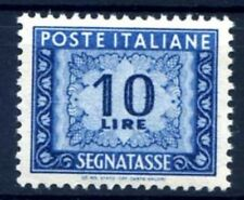 ITALIA 1947 - SEGNATASSE  10 Lire  RUOTA  NUOVO **