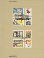 #1426 (49c) Forever Vintage Circus Posters #4899-4905 Souvenir Page