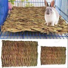 Animal Hamster Grass Chew Mat Breakers Toy Rabbit Rat Guinea Pig Pad