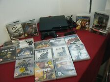 SONY PLAYSTATION 3 SLIM 320GB BUNDLE CONSOLE CONTROLLER AND 20 GAMES