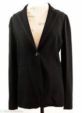 NWT GUCCI 346913 Blazer Jacket, Black Sz 46G 10US
