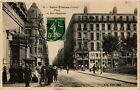 CPA Saint-Étienne - Place et Rue Gambetta (166052)