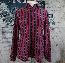Miss Sophisticates Pendleton Blouse Shirt Vintage Business Classy USA Made Sz 4