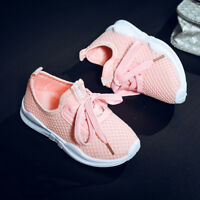 Toddler Kids Baby Boys Girls Sport Running Shoes Letter Mesh Shoes Sneakers