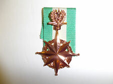 b0402 RVN Vietnam Police Honor Medal 3rd class Bronze Canh Sat Danh Du IR5G