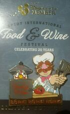 Disney 2015 Food And Wine DVC Muppet Chef LE 2015 HTF Rare Pin
