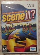 Nintendo Wii Scene it ? Bright Lights ! Big Screen (Brand new) **FRENCH ONLY**