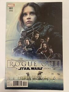 Star Wars Rogue One #1 Rare Walmart Variant 1st Appearance Cassian Andor 8.0VF