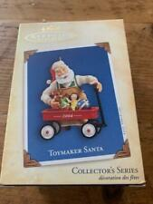 New ListingHallmark Keepsake Ornament Toymaker Santa 2004 5th #5 Series Wagon Doll Bear