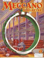 Meccano Magazine, Edition French, N° 6 June 1937, Bel Condition