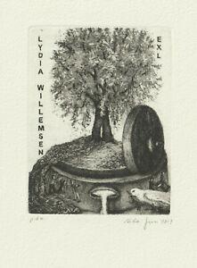 Ex libris Exlibris by FUSI CARLA / Italy
