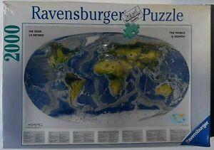 RAVENSBURGER. OCEANIC MAP. 2000 PCS. ITEM NR.16649.
