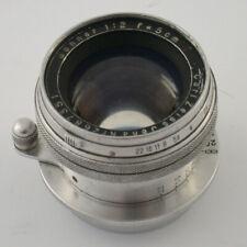 Carl ZEISS Jena Sonnar T 2/50 50 50mm F2 2 M39 LTM year 1941 rarest LESEN READ