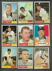 1961+Topps+BB+NY+Yankees+Card+Lot+%2810%29+Diff+EX%2FEX%2B