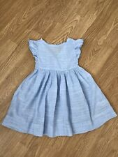 Girls Next Beautiful Blue Summer Dress 2-3 Years