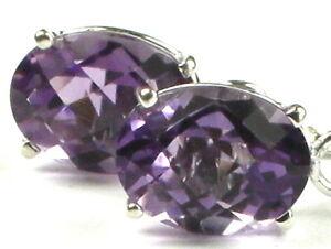 Embers Natural Gemstone Earring Purple Amethyst Gemstone Earrings,Yellow Gold Earrings Gold Ear Threads Gold Amethyst Threader Earrings