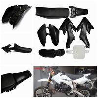 8pcs Plastic Mudguard Fairing Seat Set 50cc 110cc 125cc CRF50Dirt Pit Bike <