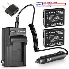 Kastar Battery Travel Charger for Panasonic CGA-S007 & Panasonic LUMIX DMC-TZ3S