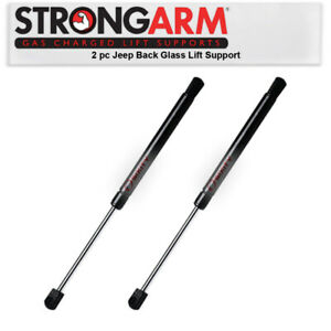 2 pc Strong Arm Back Glass Lift Supports for 1997-2006 Jeep Wrangler Body ky