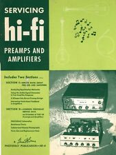 Servicing Hi-Fi Preamps and Amplifiers (1959) - Tube Audio Hi-Fi - CD